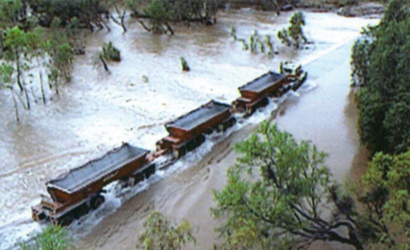 Australia, The wild rains